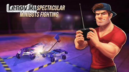 Robot Fighting 2 - Minibots 3D v 2.3.10 (Mod MoneyAds-Free)