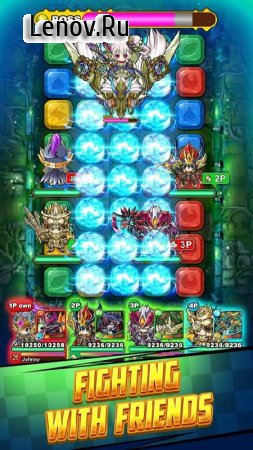 Puzzle Dragon Dungeons v 3.3.7 Мод (Always Critical HIT/Massive HP)
