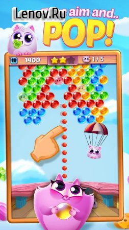 Cookie Cats Pop v 1.57.1 Мод (Unlimited Coins)