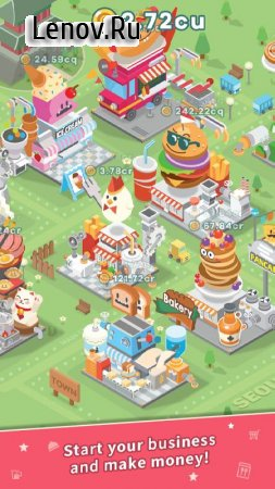 Foodpia Tycoon v 1.3.23 (Mod Money)