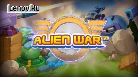Tower Defense: Alien War TD (обновлено v 1.1) (Mod Money)