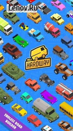 Hardway - Endless Road Builder (обновлено v 0.0.60) (Mod Money/Unlocked/ads-free)