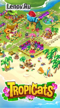 Tropicats - Puzzle Paradise v 1.36.163 Мод (Cheat Menus Enabled)