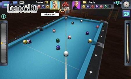 3D Pool Ball v 2.2.1.1 Мод (Long Line/Unlocked)