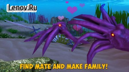 Octopus Simulator:Sea Monster v 1.0 (Mod Money)