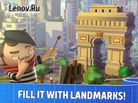 City Mania: Town Building Game v 1.4.1a Мод (много денег)