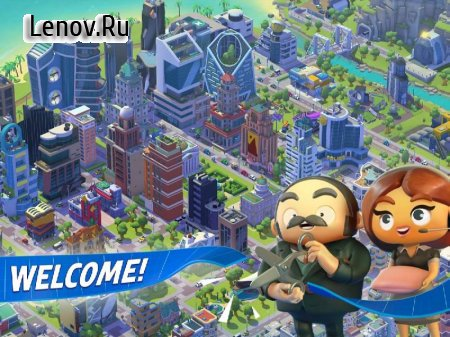 City Mania: Town Building Game v 1.9.1a Мод (много денег)