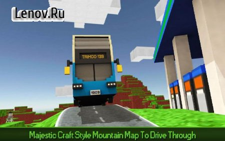 City Bus Simulator Craft PRO v 1.2 (Mod Money)