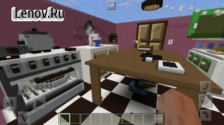 Kitchen Hide-and-Seek MCPE map v 1.0.1