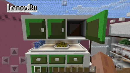 Kitchen Hide-and-Seek MCPE map v 1.0.1