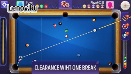 Billiards (обновлено v 1.7.3051) Мод (Infinite Chips/Energy)