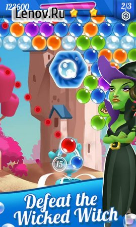 Bubble Shooter Magic of Oz v 1.401 Мод (Unlimited Lives/Gold/Booster)