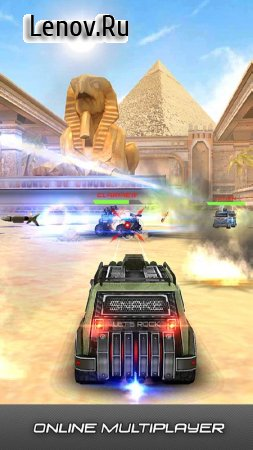 Overload: Multiplayer Battle Car Shooting Game v 1.9.3 Мод (много денег)