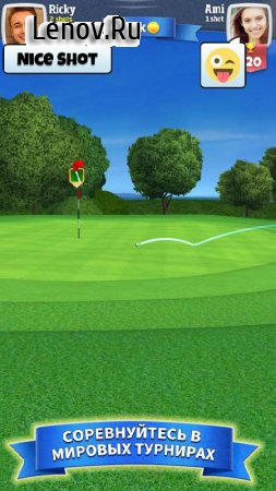 Golf Clash v 2.39.7 Mod (No Wind)