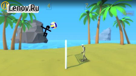 Crazy Volleyball 3D Sport Game v 1.0.1