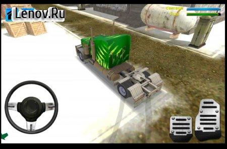 Snow Truck Driver simulator v 1.1 Мод (Unlocked)