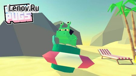 Party Pugs: Beach Puzzle GO! v 1.1.0 Мод (infinite Coins/Free Pugs & More)