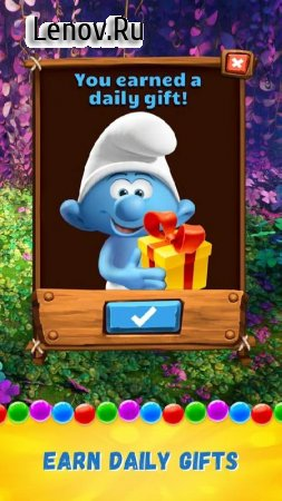 Smurfs Bubble Shooter Story v 3.03.010207 Мод (nfinite Lives/Coins/Booster)
