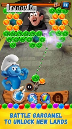 Smurfs Bubble Story v 2.07.17691 Мод (nfinite Lives/Coins/Booster)