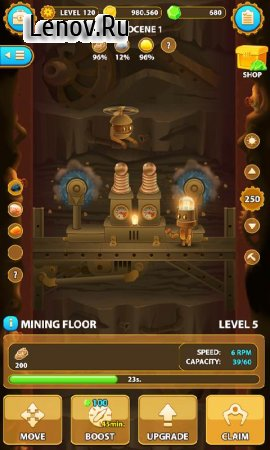 Deep Town: Mining Factory v 4.3.9 Мод (много денег)