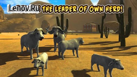 Buffalo Sim: Bull Wild Life v 1.0 (Mod Money)