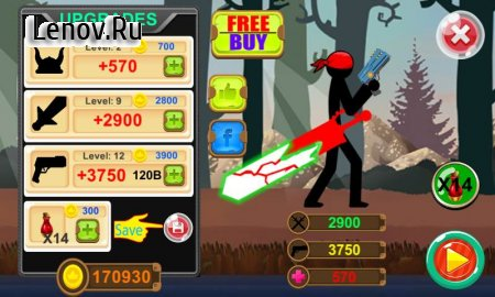 Stickman Slayer v 1.3.2 (Mod Money)
