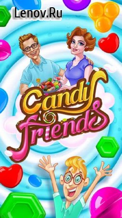 Candy Friends v 1.6 Мод (Coins Unlimited/Out Side Boosters Unlimited)