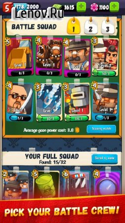 Goon Squad v 1.3.49 Мод (Unlimited Cash/Chips/Tokens)