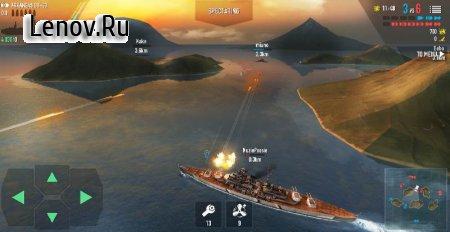 Battle of Warships v 1.67.5 Мод (много денег)