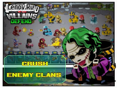 SuperHero VS Villains Defense v 1.1 (Mod Money)
