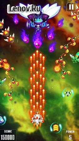 Space Shooter : Galaxy Shooting (обновлено v 1.186) (Mod Money)