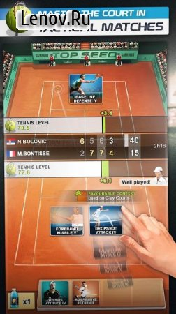 TOP SEED Tennis: Sports Management Simulation Game v 2.44.1 Мод (Unlimited Gold)