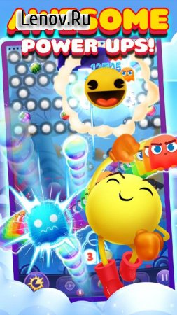 PAC-MAN Pop v 2.1.6579 (Mod Money/UnlimitedLives/Ads-Free)