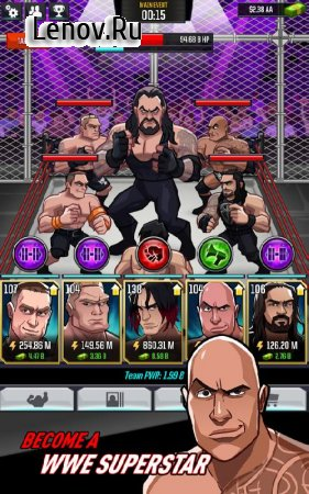 WWE Tap Mania v 17811.22.1 (Mod Money)