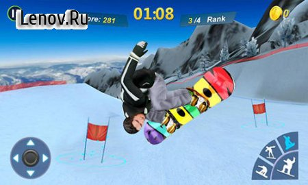 Snowboard master 3D v 1.2.2 Mod (Free Shopping)