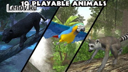 Ultimate Jungle Simulator v 1.2 Mod (Unlimited Skill Point)