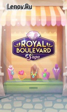 Royal Boulevard Saga (обновлено v 0.10.2) Мод (Unlimited Lives/80 Moves)
