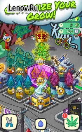 Wiz Khalifa's Weed Farm v 2.8.5 (Mod Money)