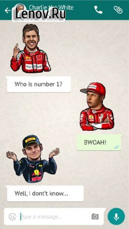 F1 Drivers Stickers from fans v 1.0 (Full)