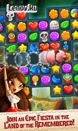 Sugar Smash v 3.98.204 Мод (Unlimited Lives/Money/Lollipops/Gold/Unlocked)