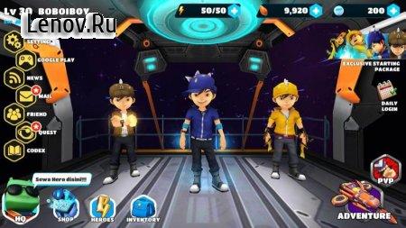 BoBoiBoy: Galactic Heroes RPG (обновлено v 1.0.14) Мод (Click Auto Skill = instant win)