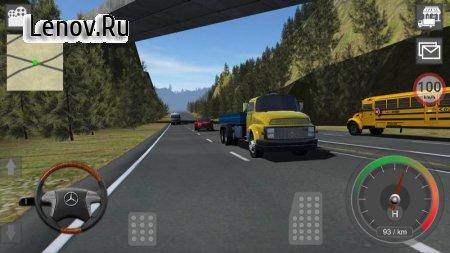 Mercedes Truck Simulator Lux v 4.64 (Full)