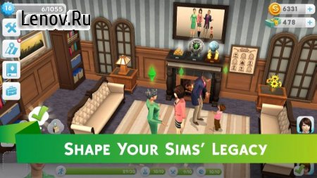 The Sims™ Mobile v 13.0.2.250301 Мод (много денег)