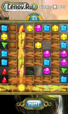 Jewels Switch v 2.3 Мод (Unlimited Gems/Mallets/Shuffles/Invalid Moves)