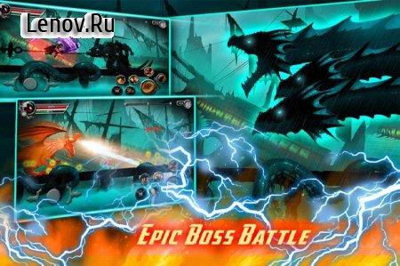 Stickman Legends: Shadow Wars v 2.3.30 Мод (Stamina/PowerUps/Gold/Gems)