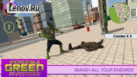 Incredible Green Avenger v 1.0.0 (Mod Money)