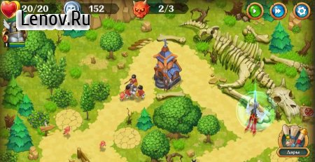 Holy TD: Epic Tower Defense v 1.52 (Mod Money)