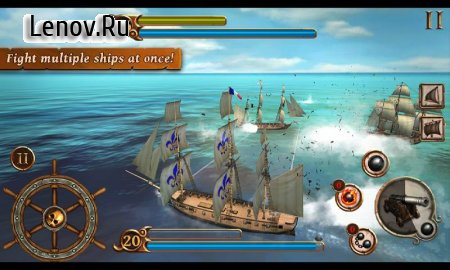 Ships Of Battle Age Of Pirates v 2.3.3 Мод (Money/Premium Ships/No Ads)