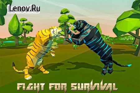 Tiger Simulator Fantasy Jungle (обновлено v 4.2) (Mod Money)