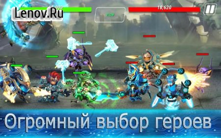 Heroes Infinity: Gods Future Fight v 1.24.3 (Mod Money)